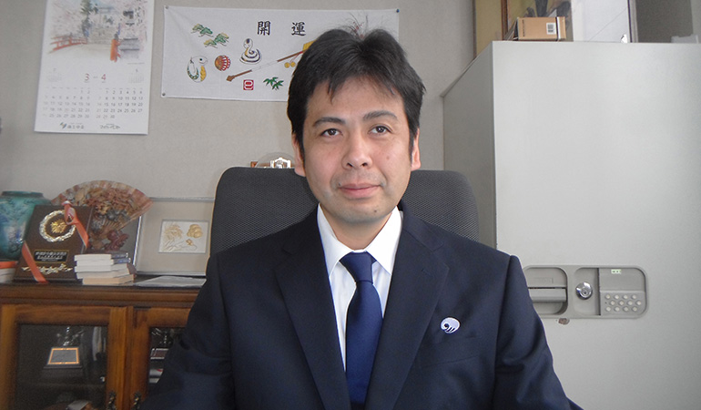 北陸湊運輸株式会社 代表取締役社長